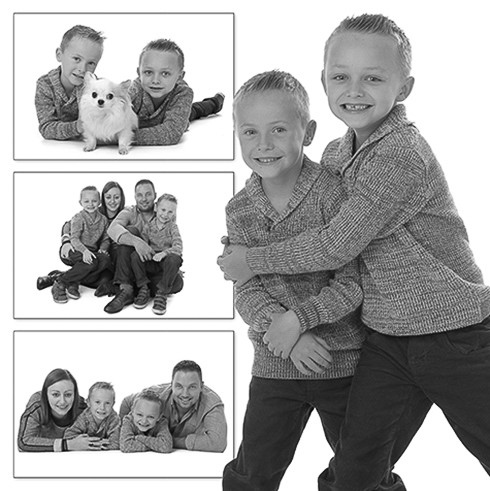 kinderfotografie fotocollage kinderen