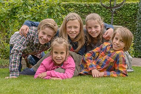 kinderfotografie groepsfoto