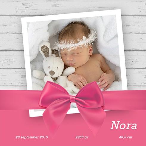 babykaartje geboorte