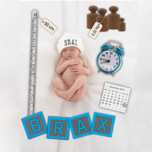 babyfotografie, newborn reportage voor geboortekaartje