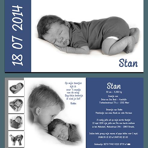 geboortekaart babykaartje