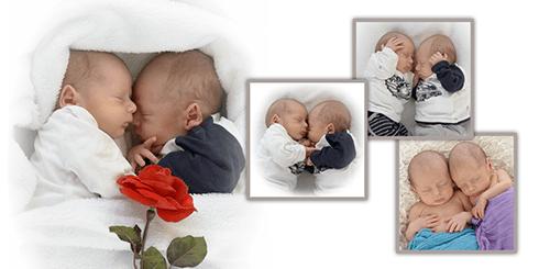 geboortekaartje tweeling
