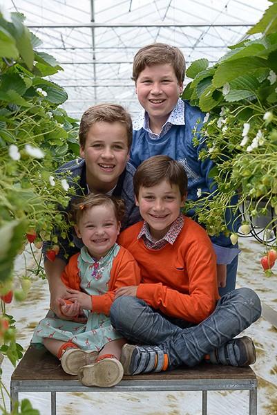 gezinsfoto kinderen