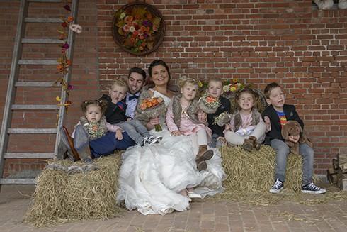 groepsfoto trouwreportage