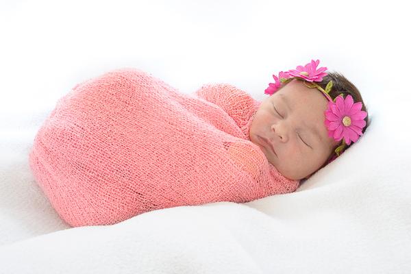 newbornfoto meisje