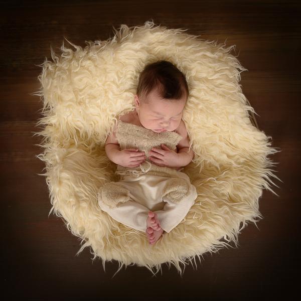 newbornfoto, fotoshoot baby