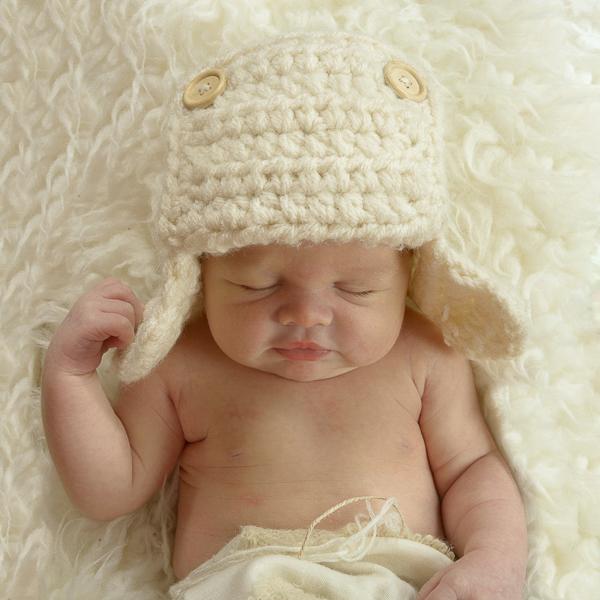 babyfotografie voor geboortekaartje