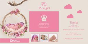 geboortekaartje sprookjesstijl