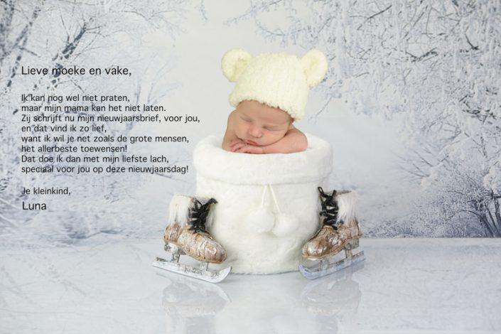 nieuwjaarsbrieven baby peuter