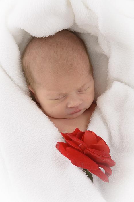 babyfotografie pasgeboren meisje