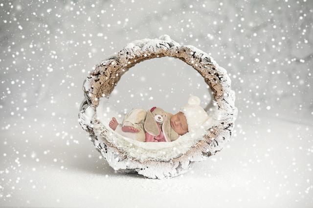 foto geboortekaartje meisje