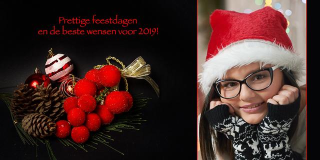 fotokaartje kerst en nieuwjaar