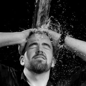 splashfotografie, water bevriezen