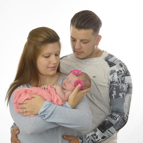 babyreportage met ouders