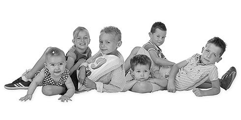 familiefoto kinderen