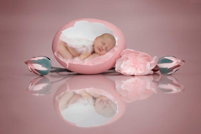 newborn fotografie meisje