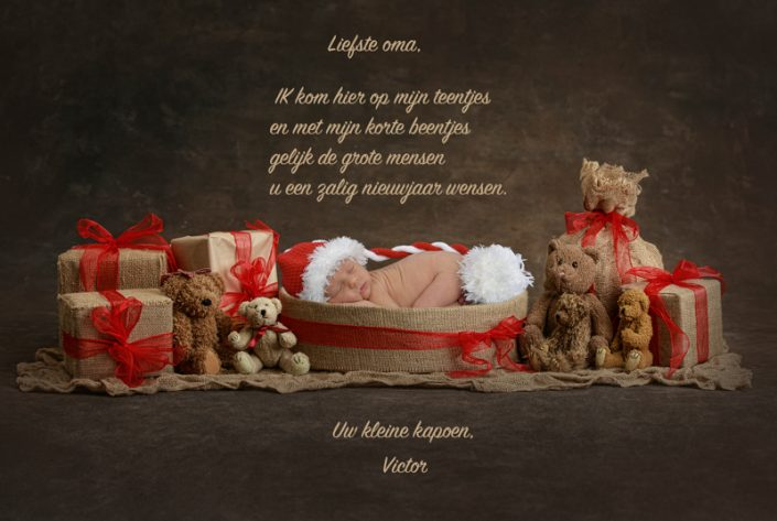 nieuwjaarsbriefje baby