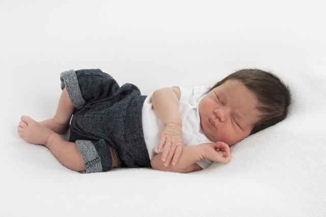fotoshoot newborn baby