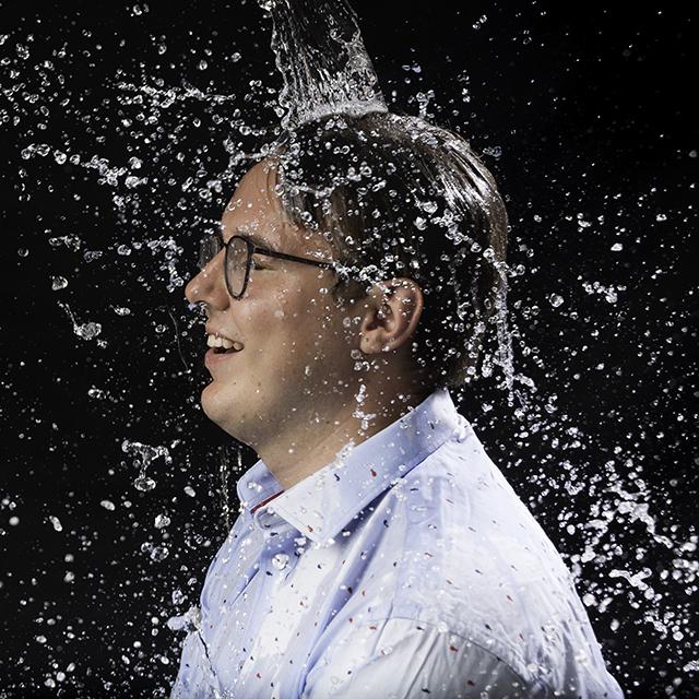 fotoshoot jongeren splash foto
