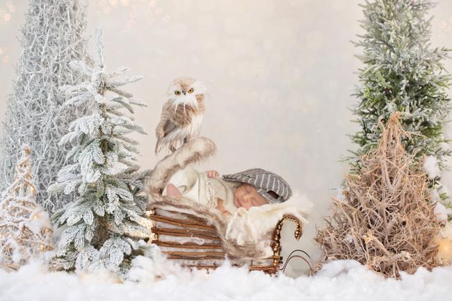 babyreportage kerstmis